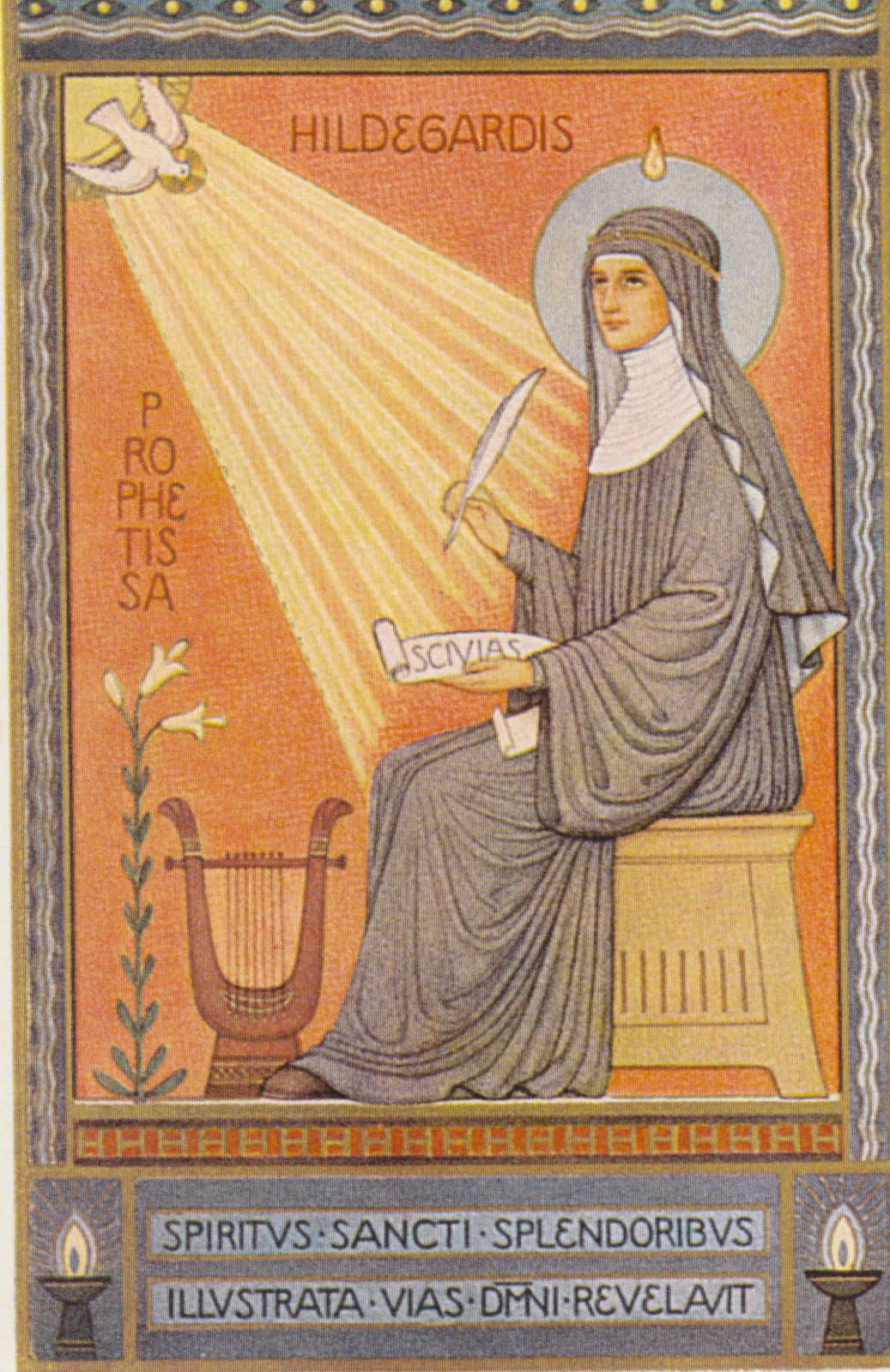 saint hildegard of bingen - gnostic muse